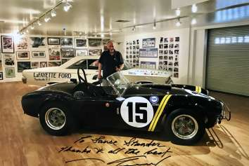 SUPERFORMANCE REMEMBERS OUR FRIEND AND COLLEAGUE, RACING LEGEND DAN GURNEY