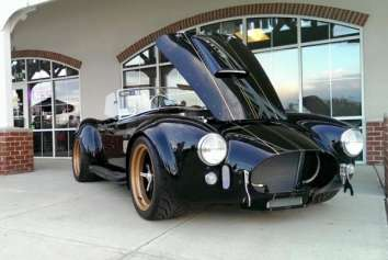 Joe Tomaric from Ohio wins the Superformance 20th Anniversary car
