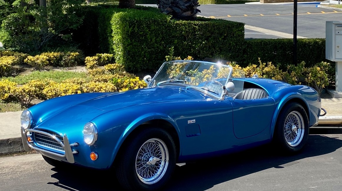 Superformance MKII Roadster graciously donated to the Peterson Museum by Superformance Corporate