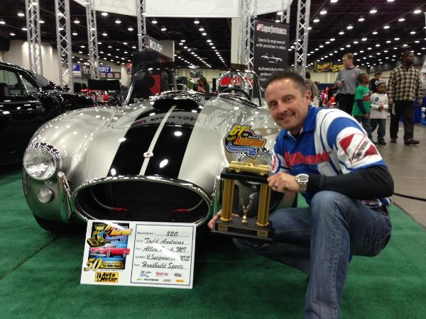 1st and 3rd Place awarded to Superformance MKIII's at Detroit Autorama 2013