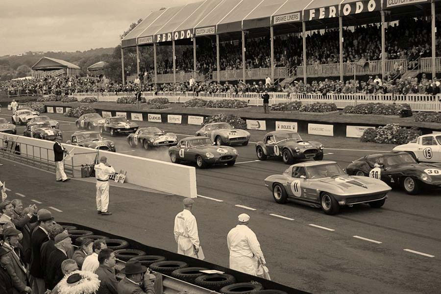 original races with the Cobra, Corvette and Daytona.