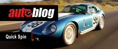 Auto Blog review of the Daytona Coupe
