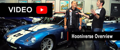 Overview of the Daytona Coupe by Hooniverse