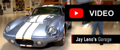 Daytona Coupe featured in an episode of Jay Leno's Garage