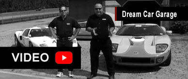 GT40 video segment of Dream Car Garage